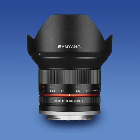 SAMYANG 12 mm f/2 NCS CS